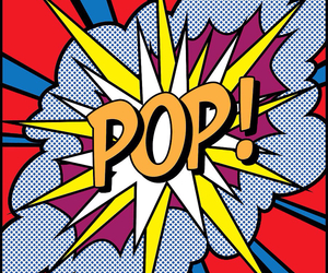 pop, art, and pop art image