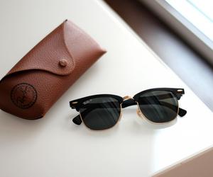 sunglasses, fashion, and rayban image