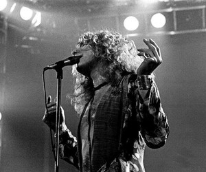 led zeppelin, robert plant, and music image