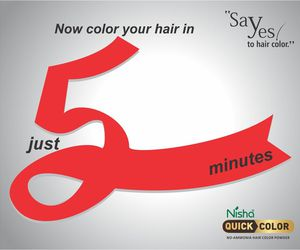 organic hair dye, herbal hair color, and 5 minutes hair color image