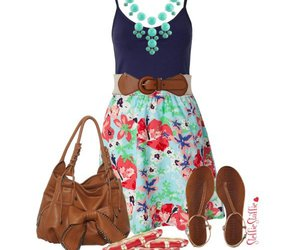 summer, outfit, and sandals image