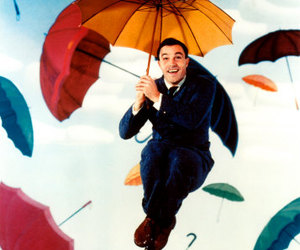 Gene Kelly, Singing In The Rain, and umbrella image