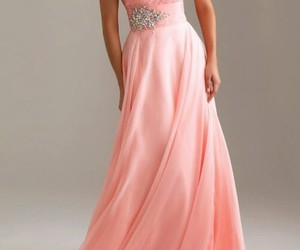 dress, night, and pink image