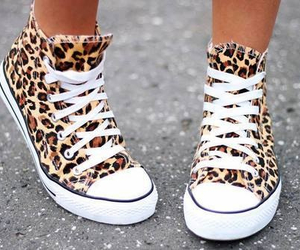 animal print, sneakers, and street fashion image
