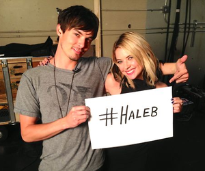haleb, pll, and pretty little liars image