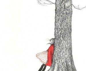 art, tree, and draw image