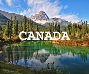 amazing, canada, and mountains image