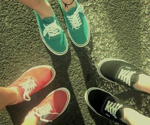 vans, shoes, and friends image