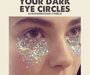 funny, glitter, and stars image
