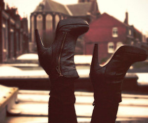 booties, boots, and heels image