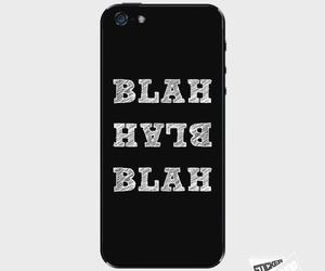 gift, blah blah, and iphone case image