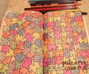 puzzle and wreck this journal image