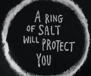 salt, supernatural, and ring image