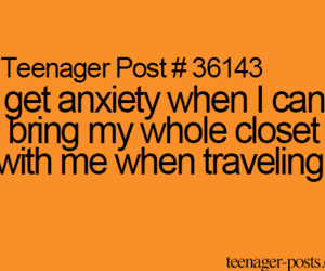 closet, traveling, and teenagerpost image