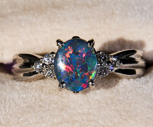 ring, beautiful, and jewelry image