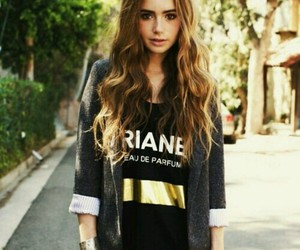 black, sweater, and yellow image