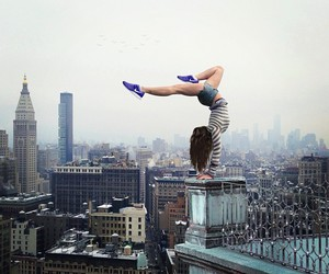 city, dance, and nike image