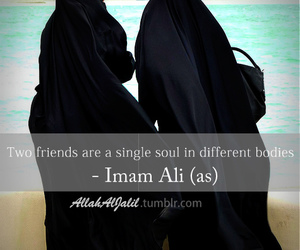 friends, islamic, and soul image