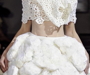 beautiful, lace, and runway image