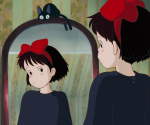 kiki's delivery service, anime, and ghibli image