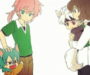 neko and inazuma eleven image