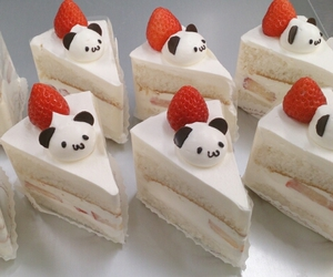 cake, food, and kawaii image