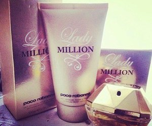 lady million, perfume, and paco rabanne image