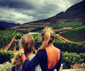 best friends, Hot, and travel image