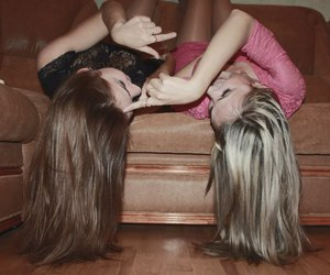 friendship, fun, and hair image