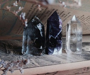 crystal, book, and article image