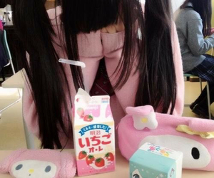 kawaii, pink, and japan image