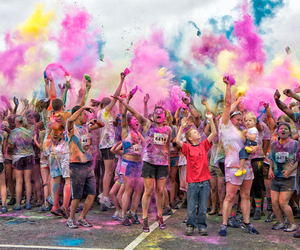 colors and people image