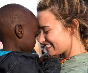 demi lovato, demi, and africa image