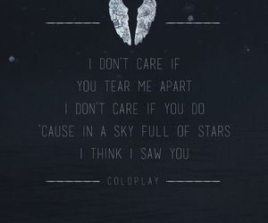 coldplay, Lyrics, and music image