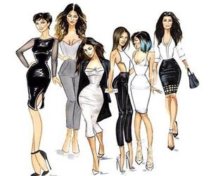 kardashians, kardashian, and kim image