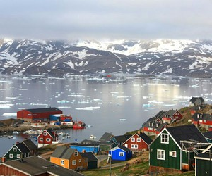 greenland and Houses image