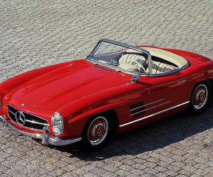 car, classic, and mercedes image