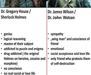 emotional, genious, and gregory house image