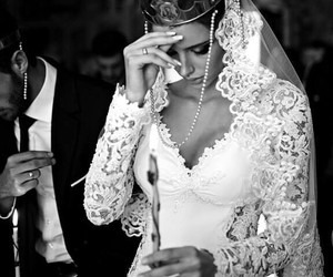 Serbia, wedding, and white image