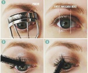 eyes, diy, and beauty image