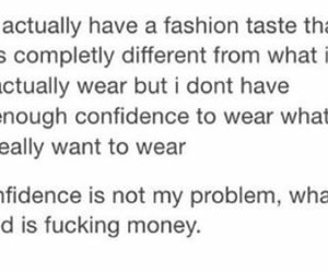 clothes, confident, and funny image