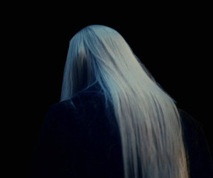 elf, lord of the rings, and grunge.girl.white hair image