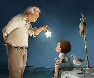 stars and boy image