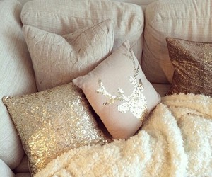 bedroom, interior design, and girly image