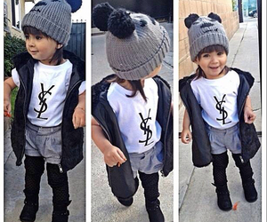 cute, fashion, and YSL image