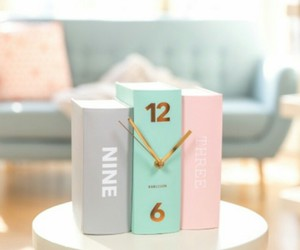 deco, watch, and pastel image