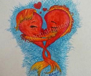 art, artist, and valentine image