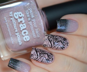 lovely, nail art, and nail lacquer image