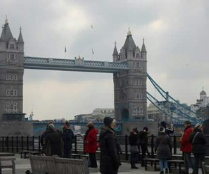 beautiful, clouds, and london image