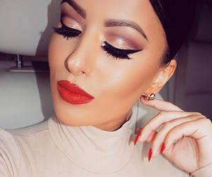 beauty, makeup, and amrezy image